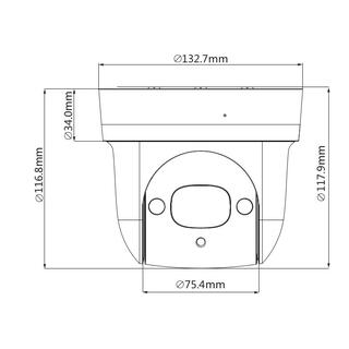 2MP IP PTZ Mini-Dome-Kamera m. STARVIS-Technologie SD29204UE-GN