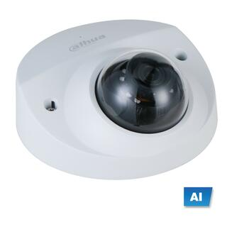 2MP Mini-Keilform IP-Kamera m. Starlight-Funktion, AI, PoE u. Audio IPC-HDBW3241F-AS-M-0280B